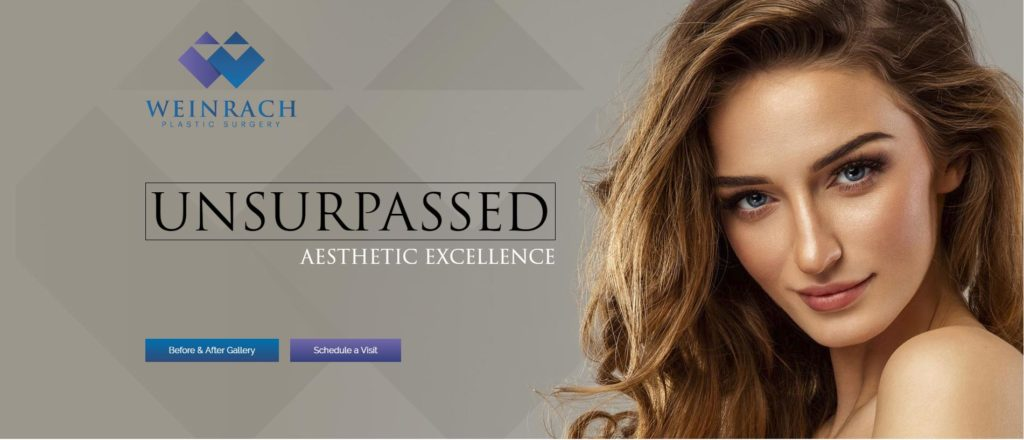Weinrach Plastic Surgery homepage banner