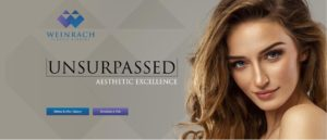 Weinrach Plastic Surgery homepage banner