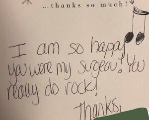 you rock testimonial